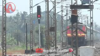 SER: 15022 Gorakhpur - Shalimar Express Skipping Abada