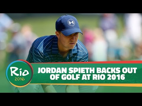 Jordan Spieth Back Out Of Rio 2016 Olympics
