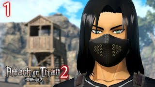 ATTACK ON TITAN 2 (PS4) - Story Mode Part #1: 104th Cadet Corps & CAC Creation   Walkthrough (4k)