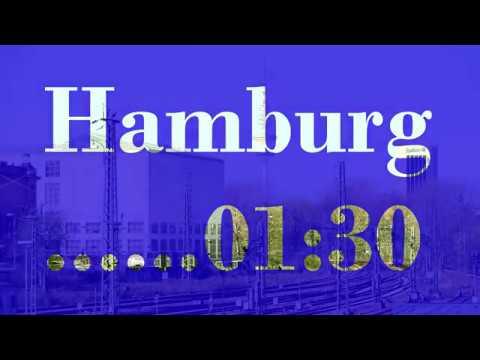 Hamburg 01:30 Part 2 Verbindungsbahn Kunsthalle Telemichel