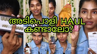 Amazon, Nykaa haul|My new haircare products|Nail products|Saree|What I got as gift|Asvi Malayalam