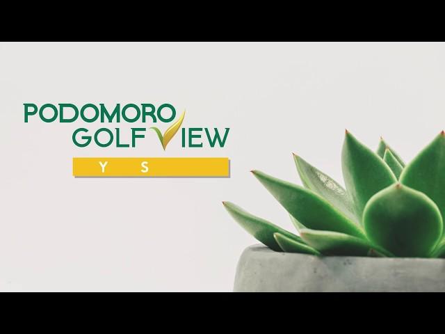 Podomoro Golf View  Progres AGUSTUS 2019