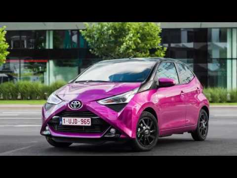 toyota aygo 2019 fl test pl pertyn gl dzi youtube. Black Bedroom Furniture Sets. Home Design Ideas
