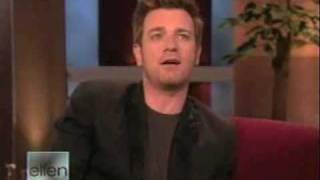 Ewan McGregor on The Ellen Show - Stop Smoking with Max Kirsten