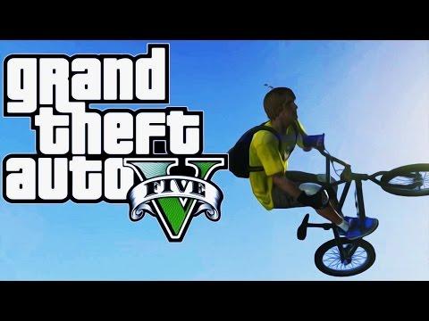THE BMX VS VOJNA BAZA CHALLENGE ! Grand Theft Auto V - Challenge #1