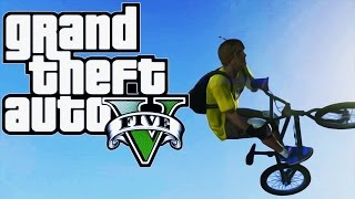 THE BMX VS VOJNA BAZA CHALLENGE ! Grand Theft Auto V - Challenge #1