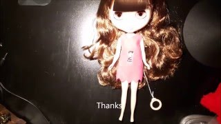 Unboxing - factory blythe from Blythe Homes from aliexpress