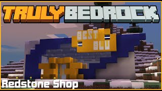 Best Blu - Redstone Shop! | TrulyBedrock SMP: Season 1 - Ep. 18
