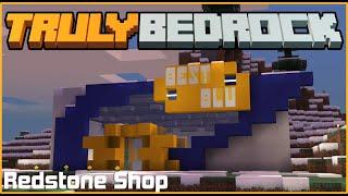 Best Blu - Redstone Shop! | TrulyBedrock SMP: Season 1 - Ep. 18