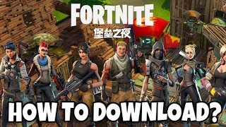 Fortnite Android - Fortnite Mobile is out in China?! (How to play?)