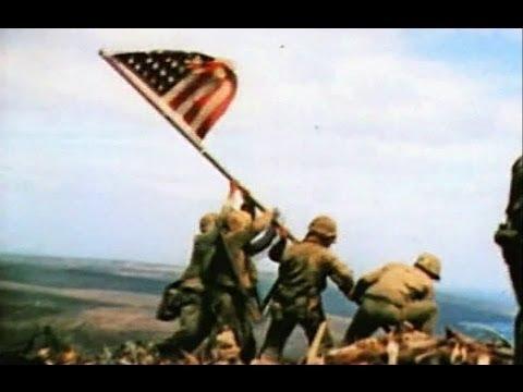 Raising the Flag on Iwo Jima – Slow Motion