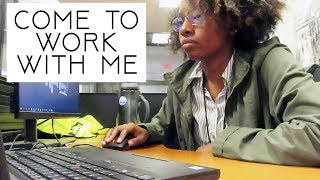 WORK DAY in my life | (9-5 adult job) VLOG