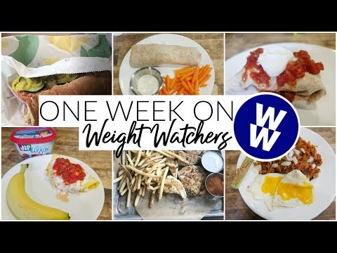 WHAT I ATE MY FIRST WEEK ON WEIGHT WATCHERS