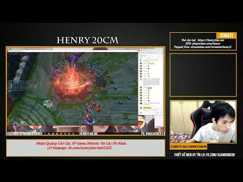 [Henry Live] Faker Hà nội tiếp tục phá đảo rank cùng Ning Đồng Nai :))