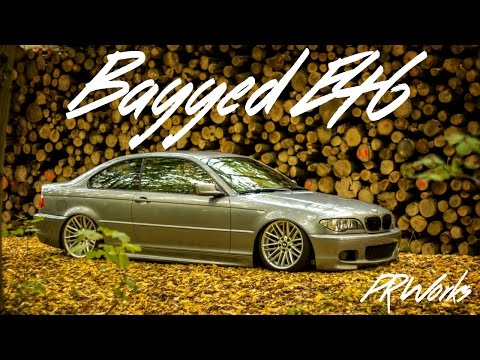 Bagged BMW E46 on daily Wheels