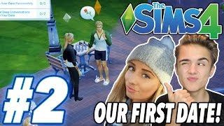 One of Jake Plays's most viewed videos: JAFFRONS FIRST DATE! | Sims 4 With Saffron #2