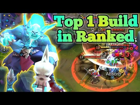 Mobile Legends: Balmond Hyper Carry   Top 1 Build | Balmond MVP In Ranked  Gameplay