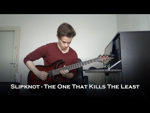 Slipknot  The One That Kills The Least Guitar  + Solo