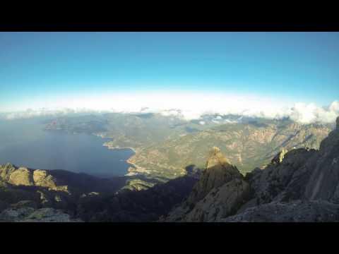 Gopro Timelapse 180° HD Capu d'Ortu Corsica