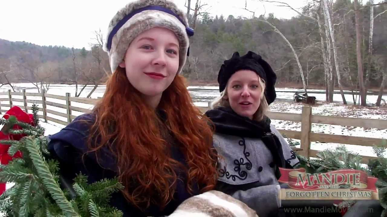 Mandie and the Forgotten Christmas Behind the Scenes 1: Snow Day ...