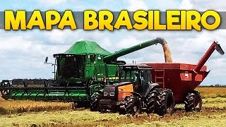 Farming Simulator 2015 - Mapa Brasileiro com Atoleiros