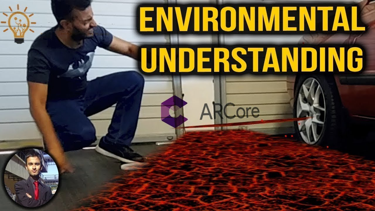 Point Cloud and Plane Detection ARCore Tutorial - How to Decorate your  floor with Lava