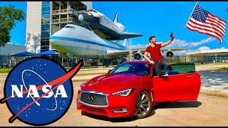 فاجأت حبيبتي برحلة لوكالة ناسا الفضائية 😍🔥