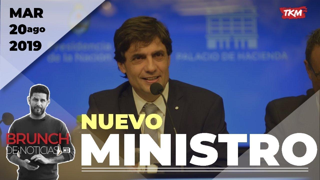 ASUME el NUEVO ministro de ECONOMÍA | Brunch de Noticias