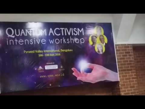 Amit Goswamy speaks at Quantum Activism in Pyramid Valley