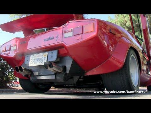 Repeat Lamborghini Countach 5000 Quattrovalvole With Kreissieg