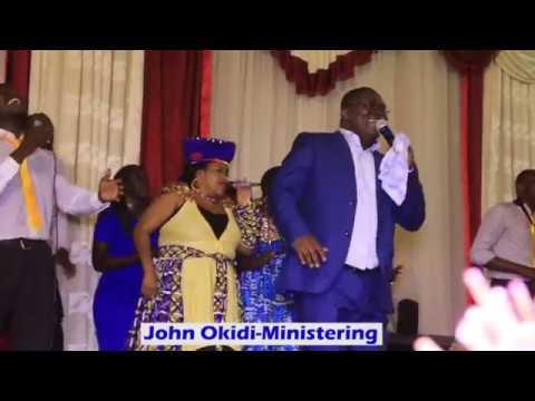 John Okidi at Hossanna event