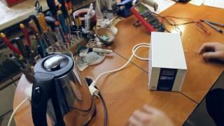 видео Стабилизатор напряжения, как проверить работу