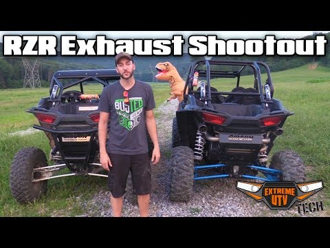 Polaris RZR Turbo Exhaust Shootout Single vs. Dual - Extreme UTV Tech