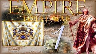 Прохождение Empire: Total War за Францию. 1 серия