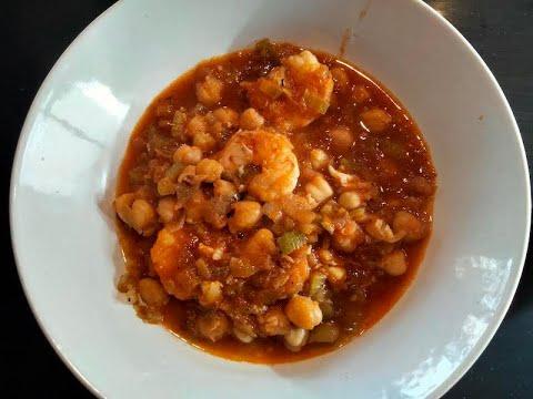 Cigrons amb gambes, cuina catalana amb Marc Picanyol
