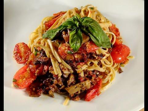 Whole Wheat Linguini With Sun-dried Tomato Pesto
