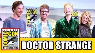 DOCTOR STRANGE Comic Con Panel - Benedict Cumberbatch, Tilda Swinton, Rachel McAdams, Mads Mikkelsen