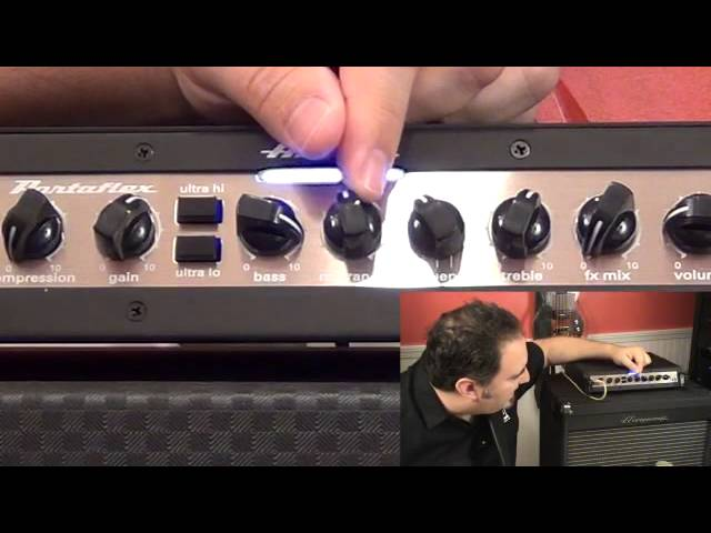 Ampeg PF-500 Bass Head - Tone Settings - Slap