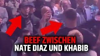 NATE DIAZ PROVOZIERT KHABIB BEI UFC 239! Was ist passiert?