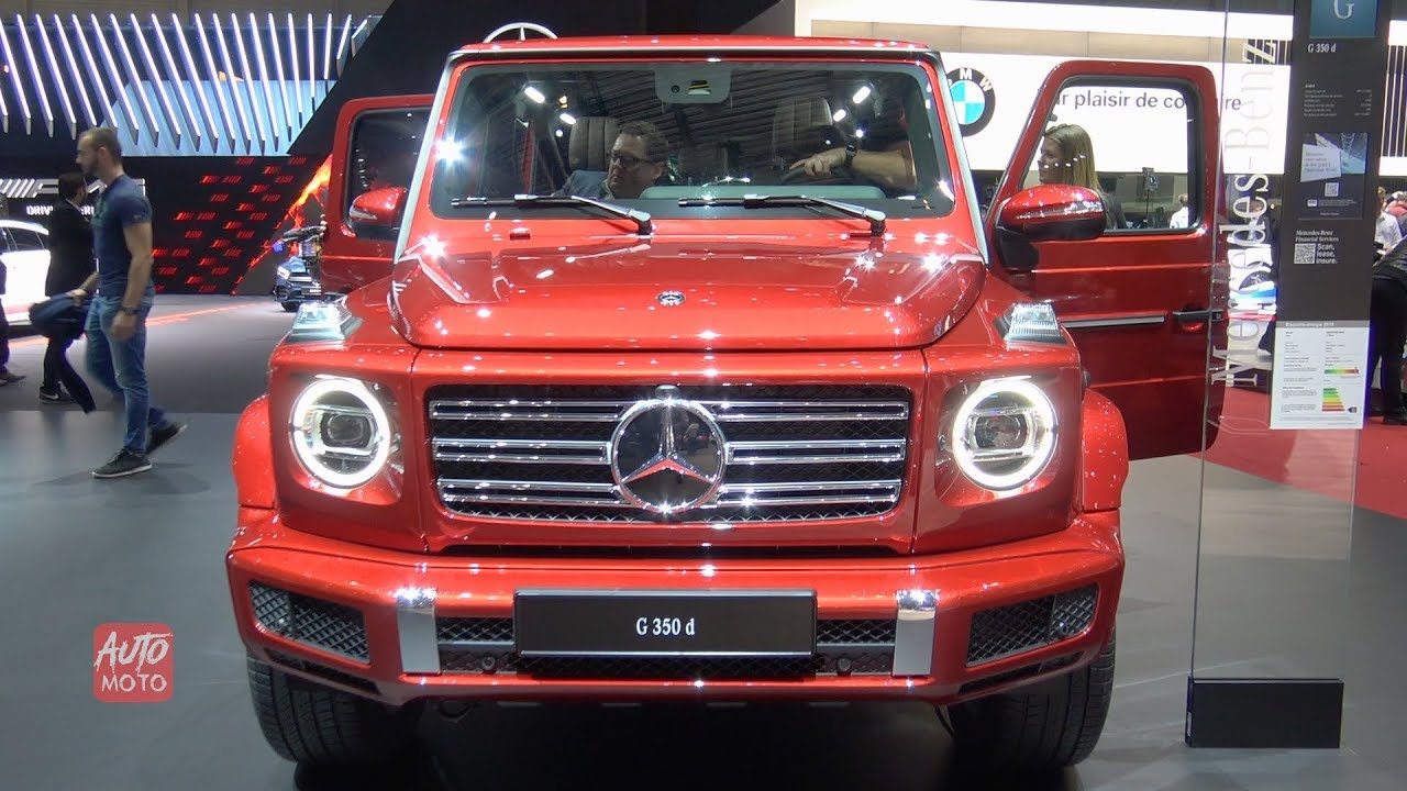 2020 mercedes g-350d - exterior and interior walkaround - 2019 geneva motor show