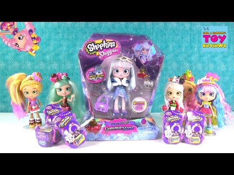 Gemma Stone Shoppies Doll Limited Edition Chance Fashion Spree Opening | PSToyReviews