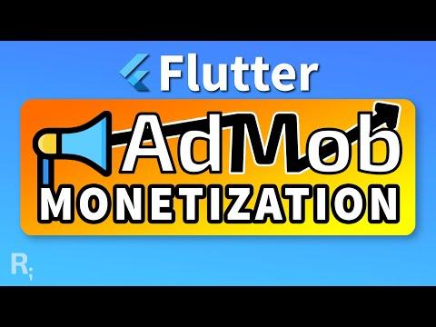 Flutter AdMob Monetization – Banner and Interstitial Ads
