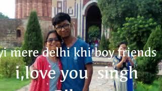 New delhi  garo video song,mp3