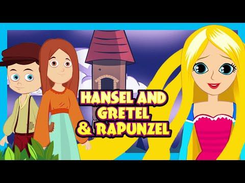 Hansel & Gretel and Rapunzel Story | Story Compilation for Kids | Rapunzel Izle