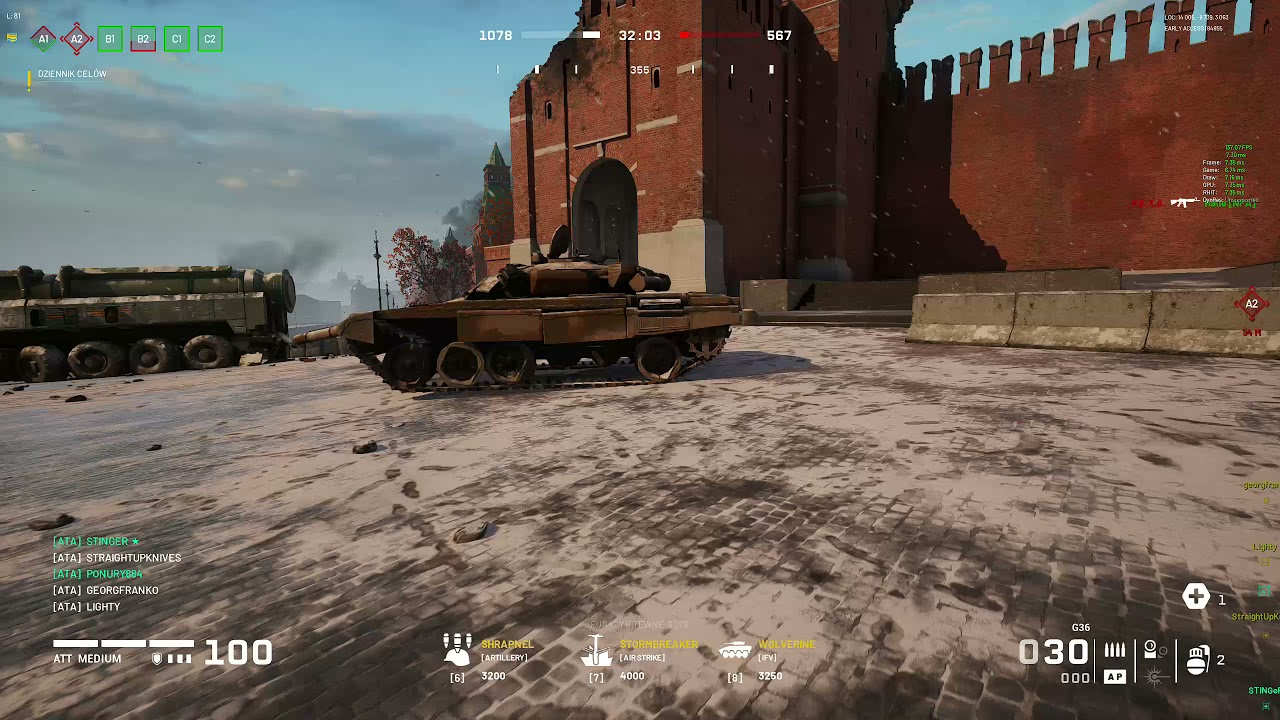 World War 3 WARZONE MOSCOW Gameplay