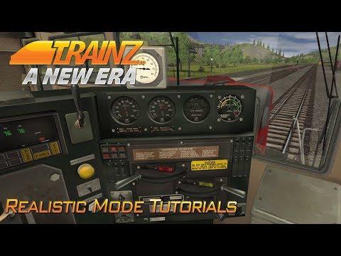 Realistic Train Driving Tutorial   Trainz A New Era   #3
