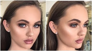 Bronzed, Soft & Glowy Makeup Tutorial ♡ Jasmine Hand