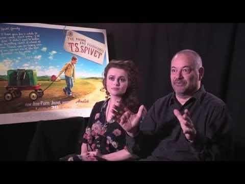 Jean-Pierre Jeunet and Helena Bonham Carter Interview - The Young and Prodigious T.S. Spivet
