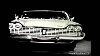 1959 Plymouth - The World Premier - original commercial