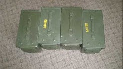 US ARMY METAL AMMO BOXES SAW 5.56  50 CAL & 7.62 4 SALE BEST PRICES